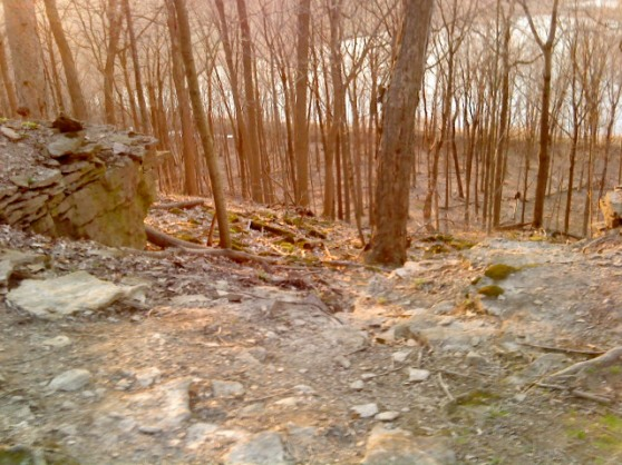 wonderful hiking terrain - escarpment