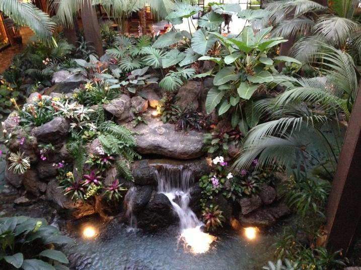 garden at resort